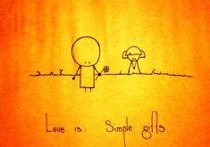 عشق واقعاً ساده است، چرا اصرار دارید آن را دشوار کنید؟