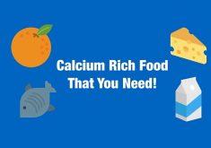لیست موادغذایی سرشار از کلسیم برای داشتن استخوانهای محکمتر