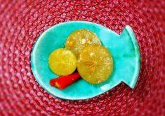 آموزش طرز تهیه ترشی لیمو