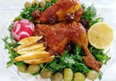 طرز تهیه مرغ سرخ شده و خوش رنگ مرحله به مرحله