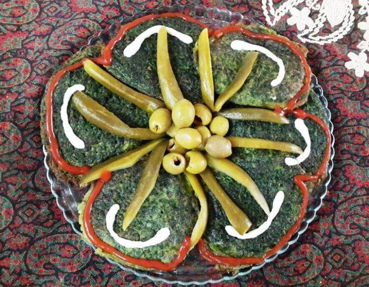دستور پخت آسان کوکو سبزی
