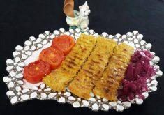 طرز تهیه کباب کوبیده مرغ زعفرانی و خوشمزه