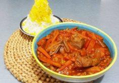 طرز تهیه خورشت هویج خوشمزه و آسان