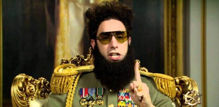 """معرفی 12 فیلم جذاب و دیدنی شبیه """"دیکتاتور"""" (The Dictator)"""