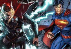 مبارزه ثور و سوپرمن؛ کدامیک در نبرد مرگ پیروز میشوند؟