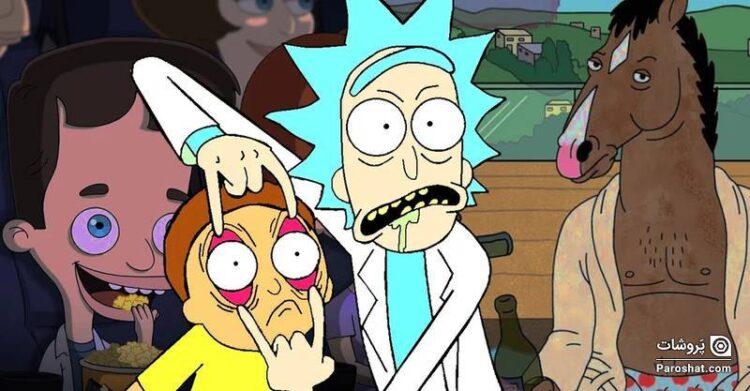 رده بندی بهترین سریالهای کمدی انیمیشن دهه اخیر