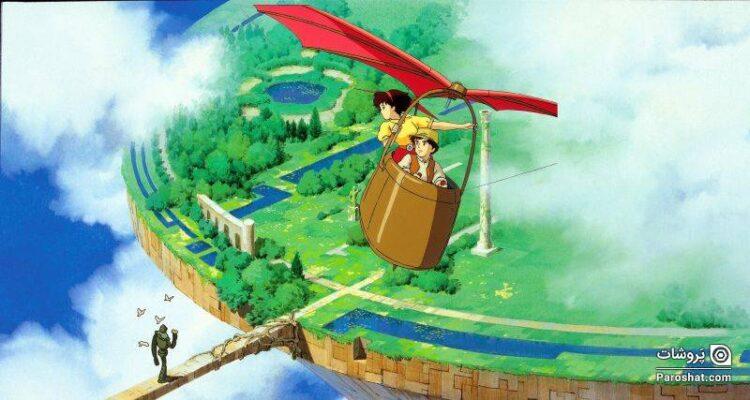 """معرفی انیمه """"لاپوتا: قلعهای در آسمان"""" (Castle in the Sky)"""