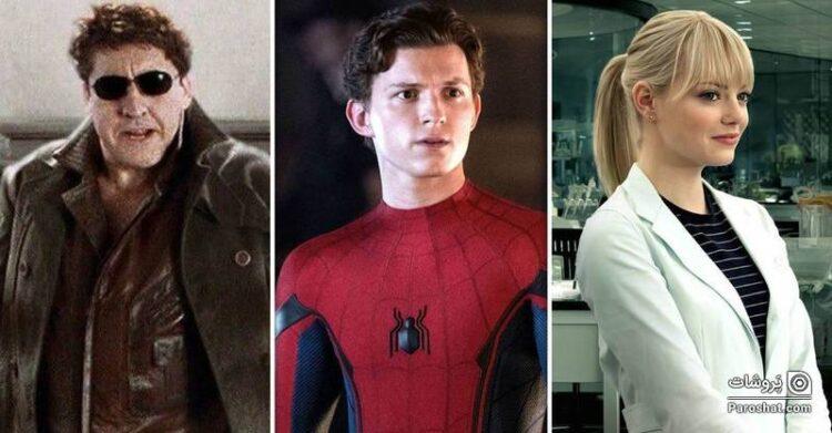 """تمام بازیگرانی که در """"مرد عنکبوتی 3"""" به شخصیتهای خود بازمیگردند"""