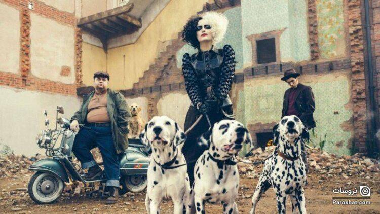 اولین پوستر رسمی فیلم Cruella با بازی اما استون منتشر شد