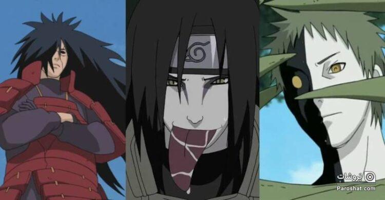 """بدترین ویلنهای """"ناروتو"""" (Naruto) که به ترتیب شرارتشان رتبه بندی شدهاند"""