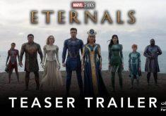 اولین پوستر و تریلر فیلم Eternals منتشر شد