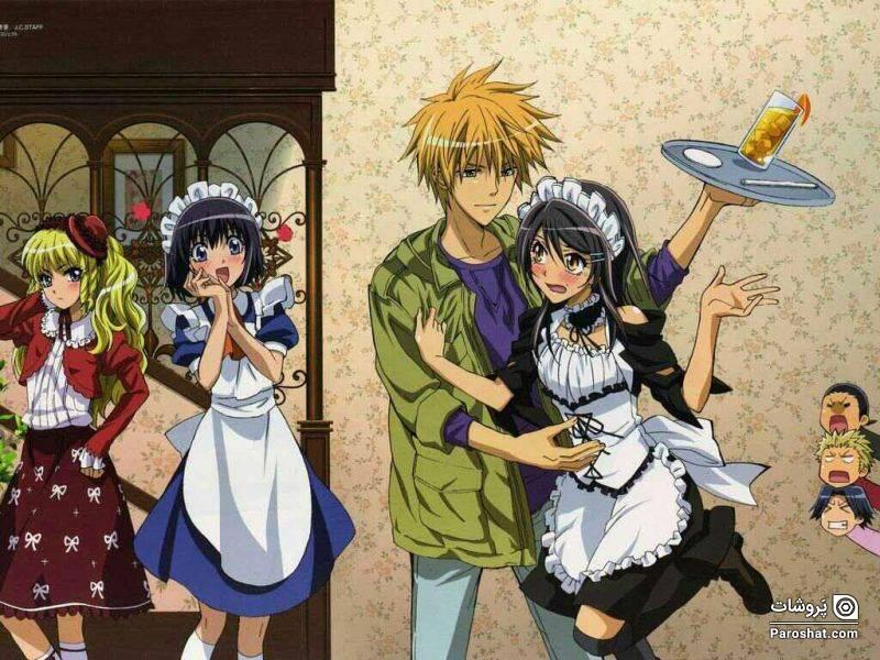 داستانی کمدی-عاشقانه در دوران دبیرستان kaichou wa maid sama