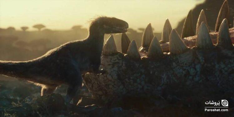 پوستر جدیدی از فیلم Jurassic World: Dominion منتشر شد؛ انتشار تریلر فقط در سالنهای سینما