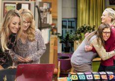 """ایمی و برنادت و پنی در سریال """"تئوری بیگ بنگ"""" (The Big Bang Theory)"""